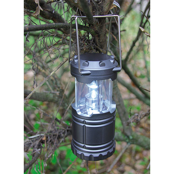 LED Campingleuchte CL-1285 silber